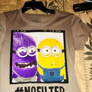 Despicable Me Juniors Tee